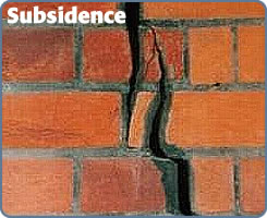 Subsidence buildings insurance